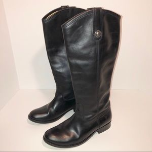 FRYE Mellissa Knee-High Leather Boots 6.5